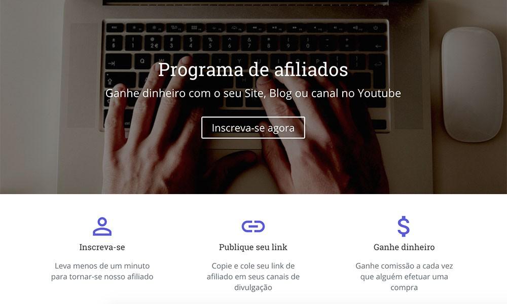 Programa de afiliados Criar.io – Vantagens de se afiliar