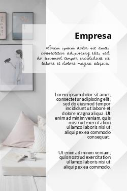 Branco com Foto para Decoração & Design de Interiores