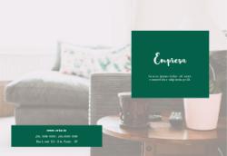 Verde Sofisticado para Design de Interiores