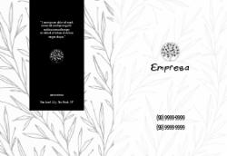 Floral Elegante para Escritório de Design de Interiores