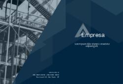 Azul com Edifício para Engenharia e Construtoras