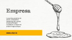 Amarelo Mel de Abelhas para Doces ou Apicultura