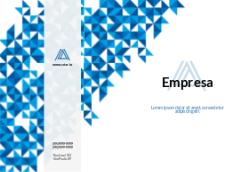 Azul Geométrico para Engenheiros e Imobiliárias