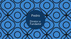 Azul com Fundo Abstrato para Decoradores