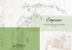 Branco e Verde para Escritórios de Decoração