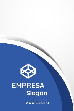Azul e Branco para Consultoria Empresarial
