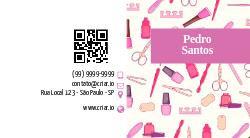 Rosa Ilustrado para Manicures e Pedicures
