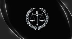 Preto para Escritórios de Advocacia com Balança