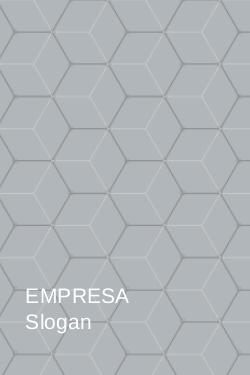 Cinza e Branco com Padrão Colméia para Empresas