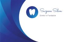 Azul com Ilustração para Dentistas