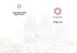 Branco Ilustrado para Agências de Viagens