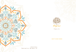 Amarela com Mandala para Empresas de Decoração