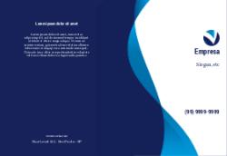 Azul Abstrato para Clinicas Médicas