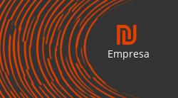 Laranja e Cinza com Logotipo para DJ