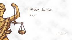 Amarelo Elegante para Advogados e Escritórios