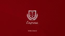 Vermelho Sofisticado para Advogados e Escritórios