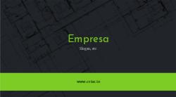 Preto e Verde para Engenharia & Construção Civil