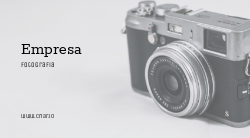 Branco e Cinza para Fotógrafo