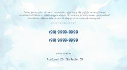 Azul Claro Elegante para Terapia Holística