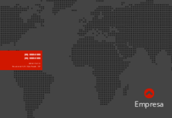 Preto com Mapa Mundi para Empresas de Turismo