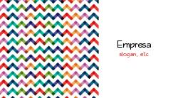Zigue-zague Colorido Sofisticado para Empresas