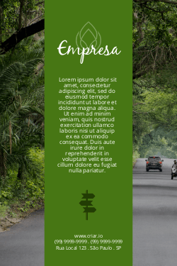 Verde para Meio Ambiente, Turismo & Viagens