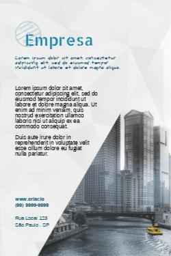 Cinza e Verde para Engenharia e Construção Civil